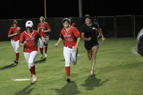 Hedges and Girls Running vs KC