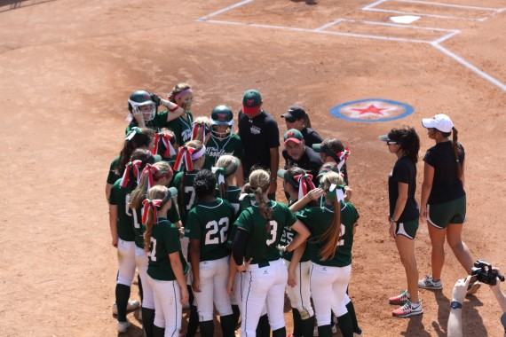 Team Huddle at State